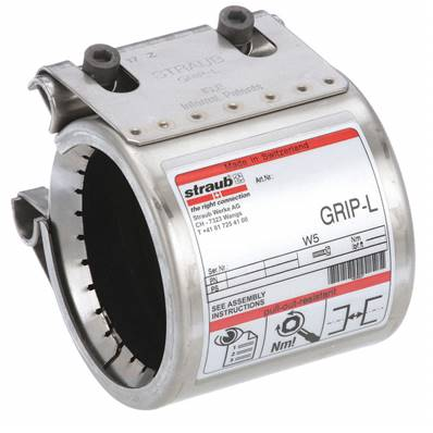 Piping - STRAUB - Grip-L - NBR - SGL44N16PV - 44.5mm