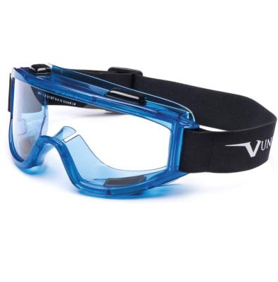 Safety Eq - Univet - Goggles - PC Clear - Blue - AS-AF