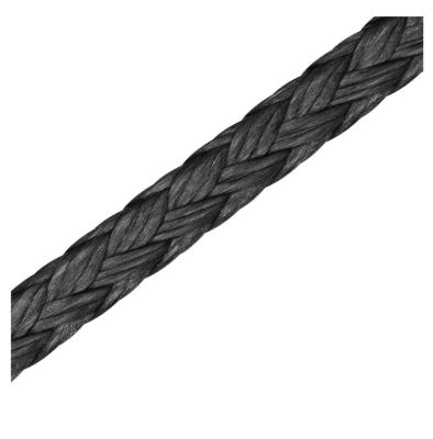 RS1505X02002 - LIROS DYNEEMA PRO 12-PL  2MM BLACK P/MT - 01505-0200-674