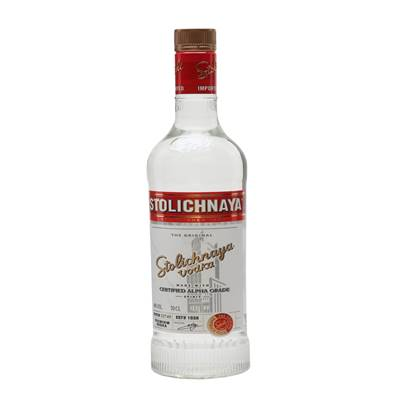 STOLICHNAYA RED VODKA 70CL - PVOSO38075