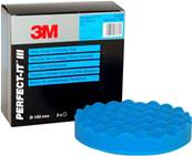 Paint Eq - 3M - High Gloss Polishing Pad - Blue - 150mm - 50388